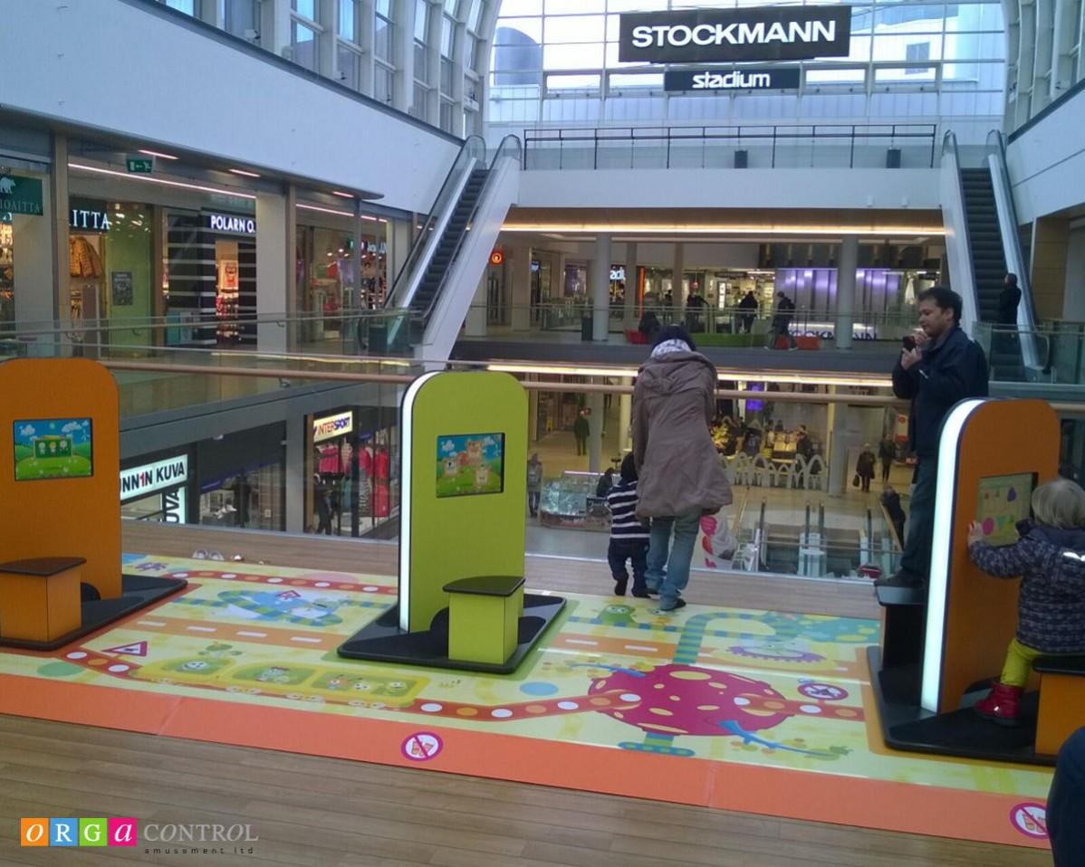 Kinderspielecken im Shopping Center ITIS Helsinki