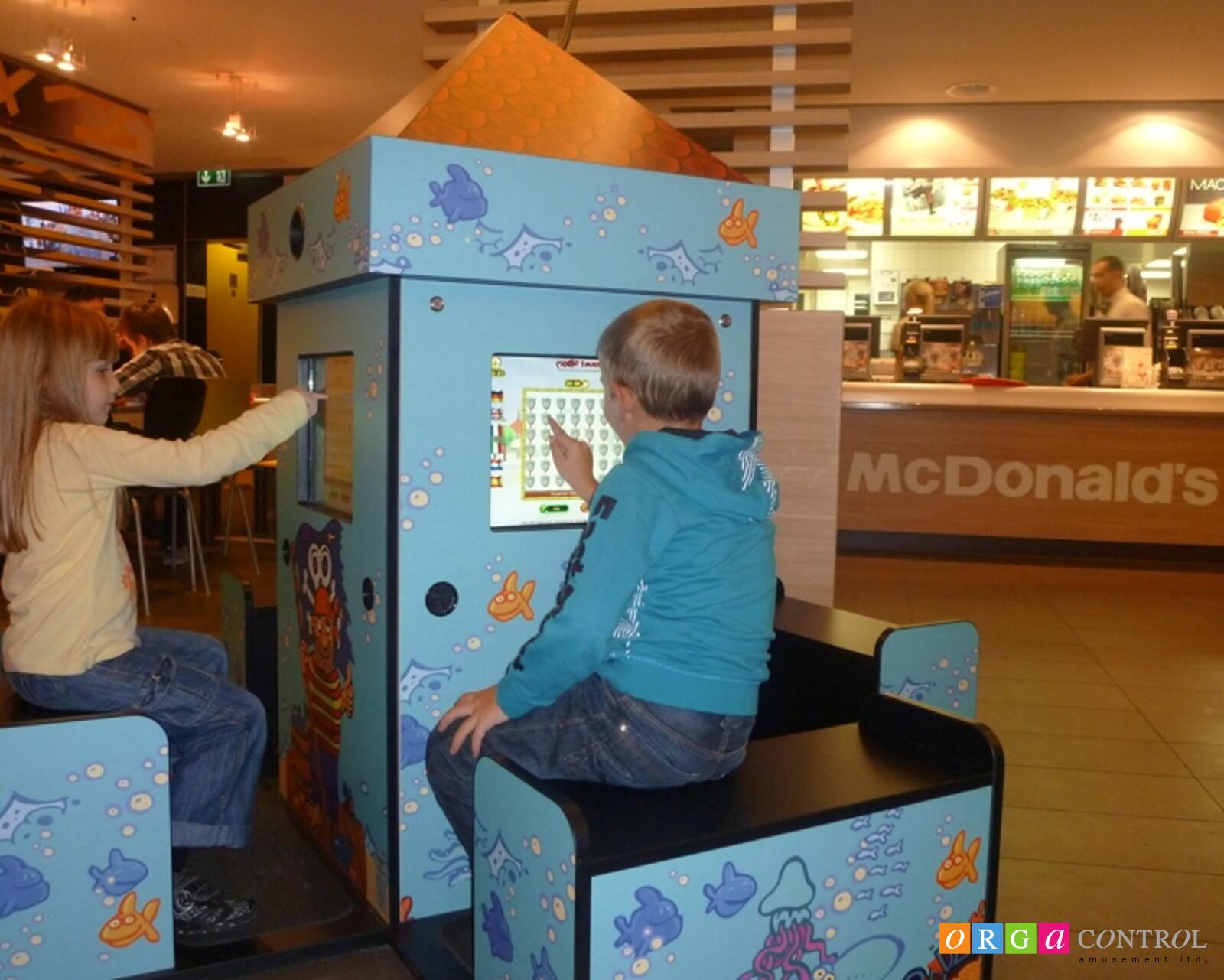 Magic Tower mit 4 Spielplätzen bei McDonald's