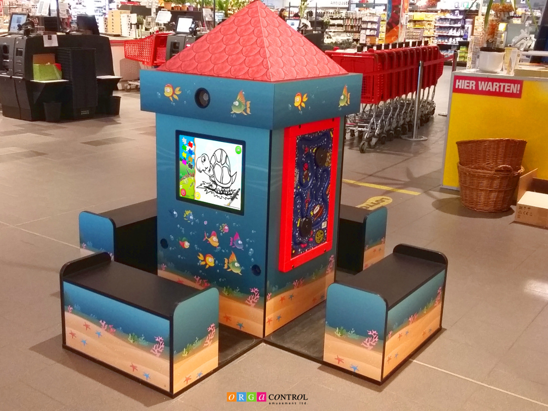Magic Tower indoor play center at supermarket