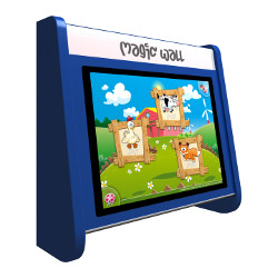 Kinderterminal Magic Wall blau 19''