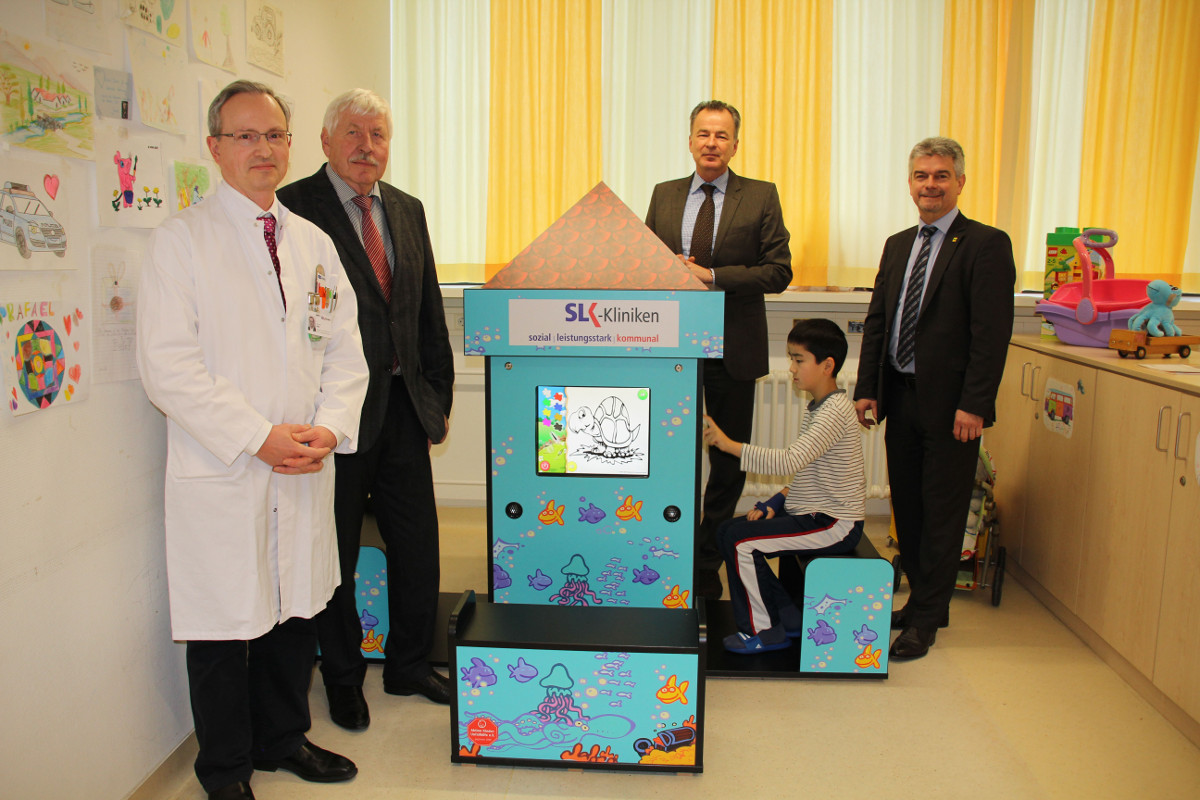 Sonderanfertigung Magic Tower @ SLK Klinikum